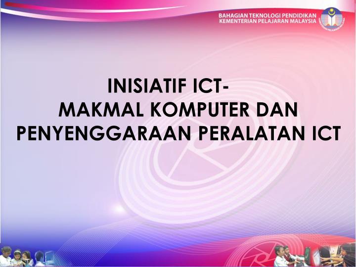INISIATIF ICT-
