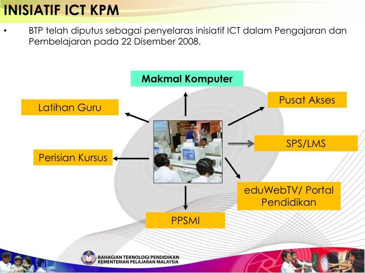 INISIATIF ICT KPM
