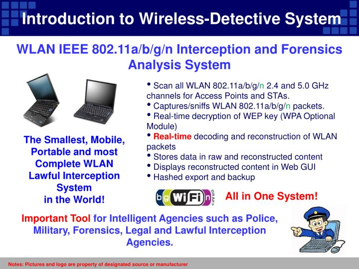 Introduction to Wireless-Detective System