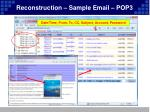 reconstruction sample email pop3