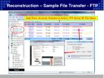 reconstruction sample file transfer ftp