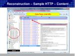 reconstruction sample http content
