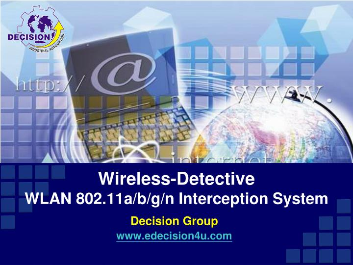 Wireless detective wlan 802 11a b g n interception system