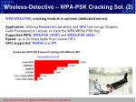 wireless detective wpa psk cracking sol 2