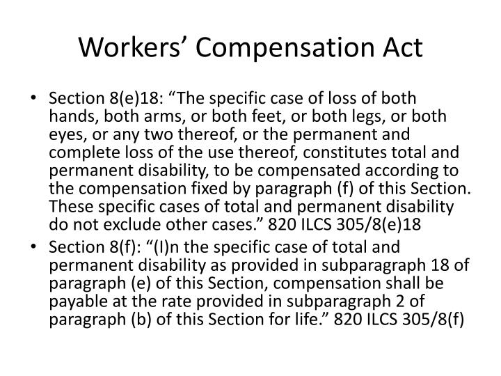Workers' Compensation Act