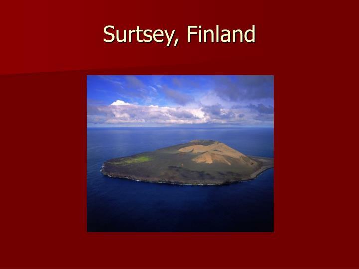 Surtsey, Finland
