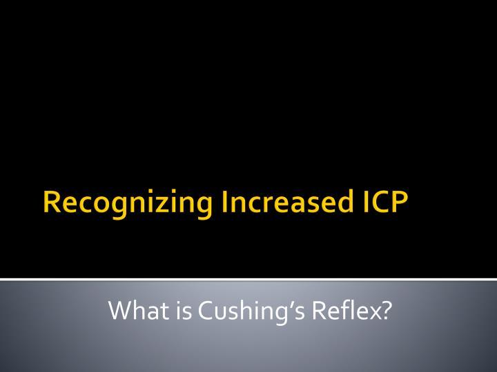 What is Cushing's Reflex?