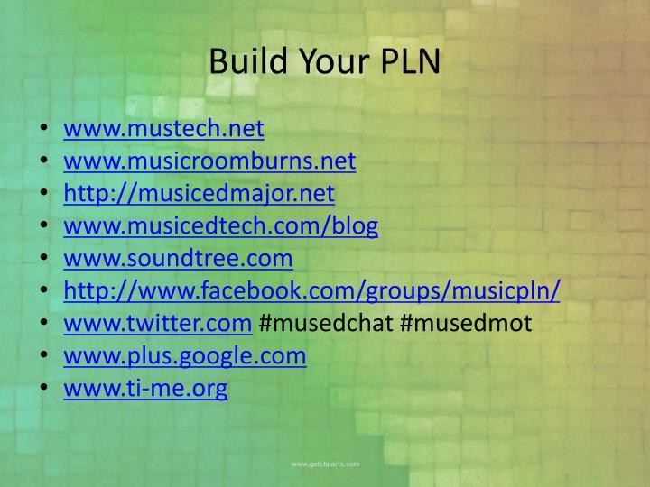 Build Your PLN