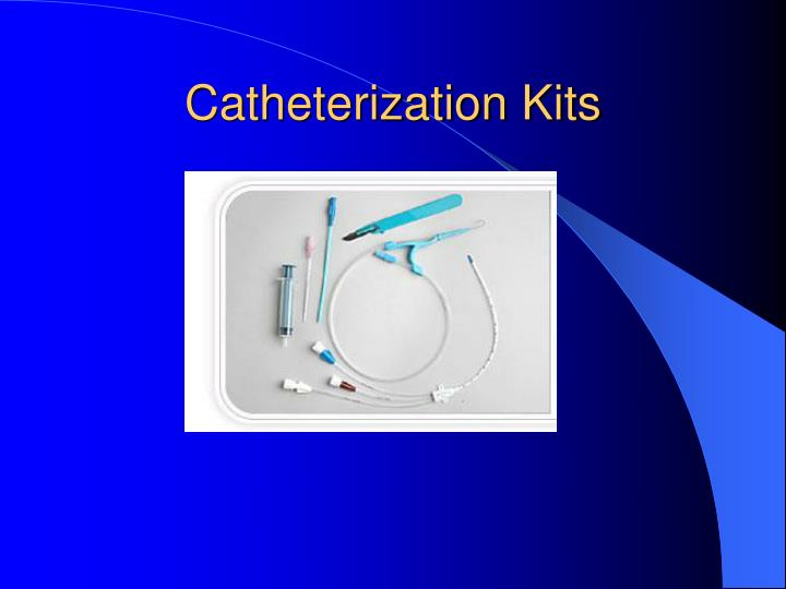 Catheterization Kits