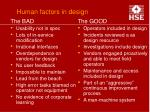 human factors in design