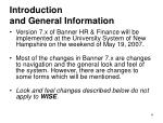 introduction and general information