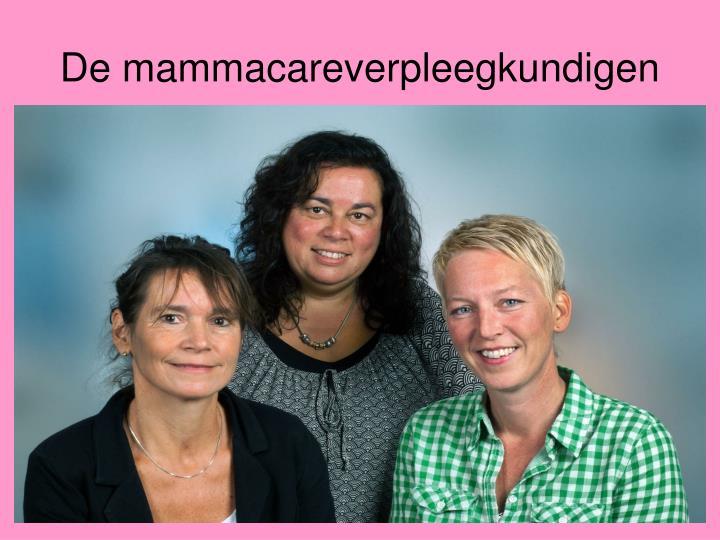 De mammacareverpleegkundigen