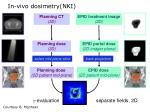 in vivo dosimetry nki