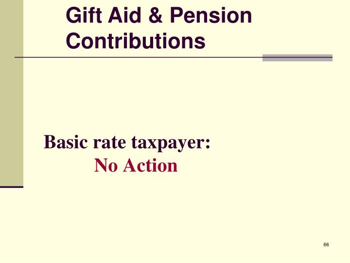 Basic rate taxpayer: