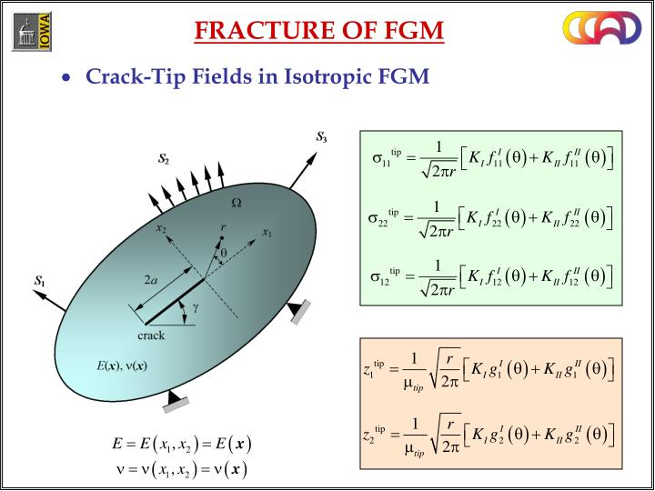 Crack-Tip Fields in Isotropic FGM