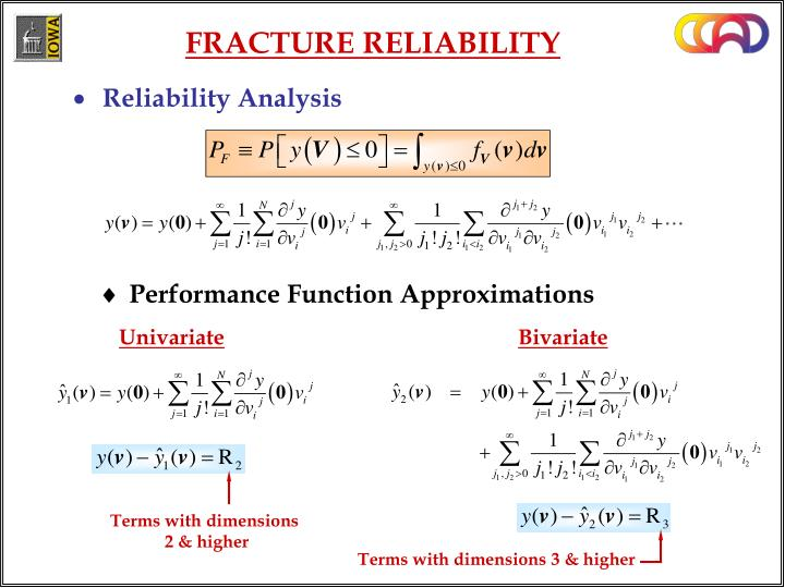 FRACTURE RELIABILITY