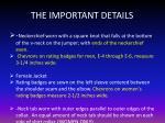 the important details2