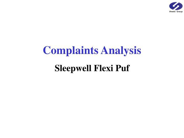 Complaints Analysis