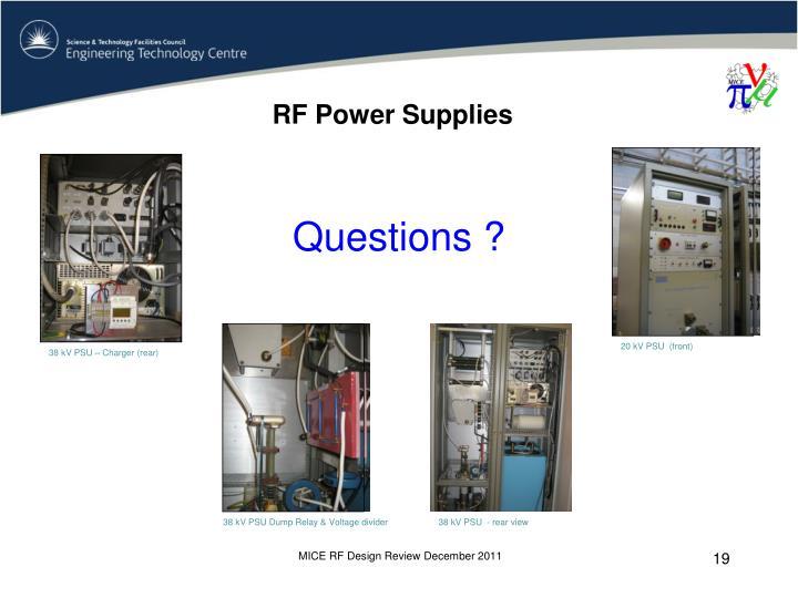 RF Power Supplies