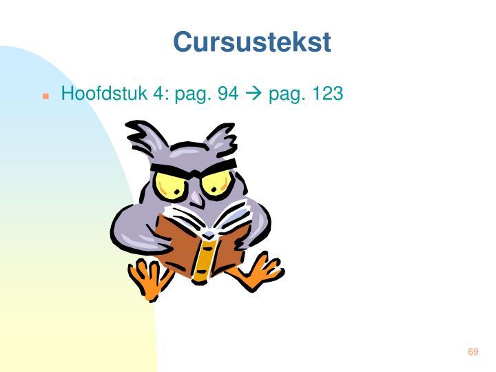 Cursustekst