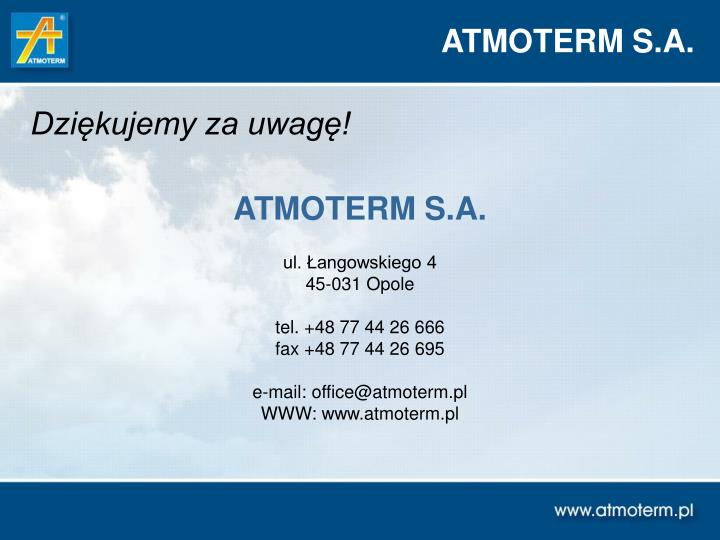 ATMOTERM S.A.