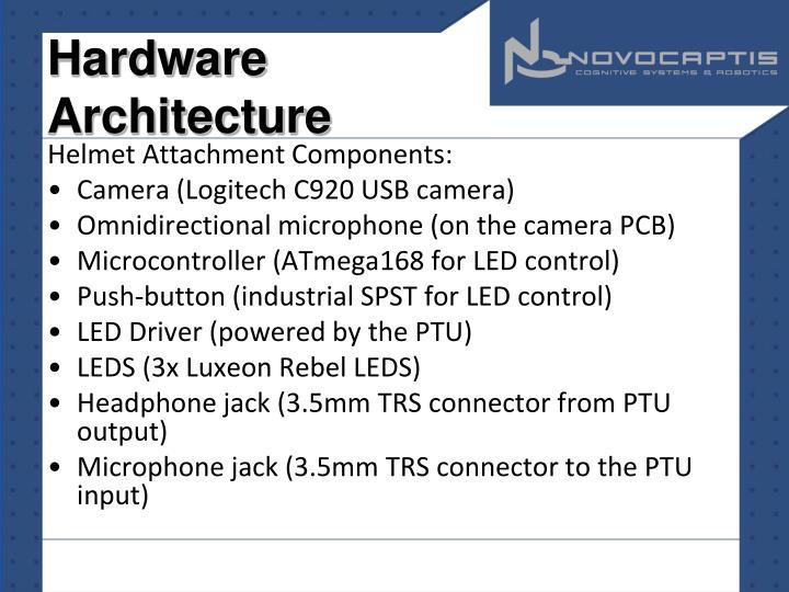 Hardware Architecture