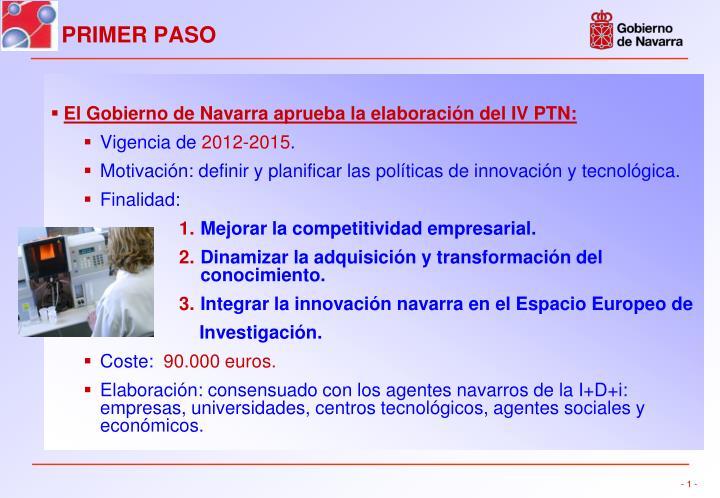 El Gobierno de Navarra aprueba la elaboración del IV PTN: