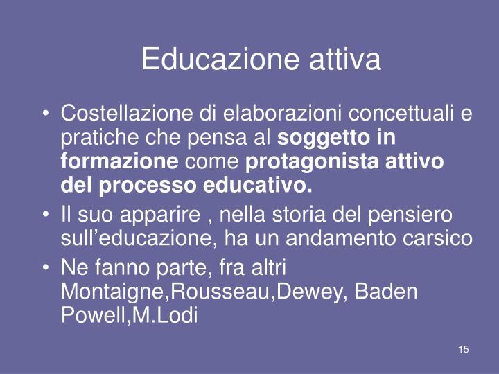 Educazione attiva