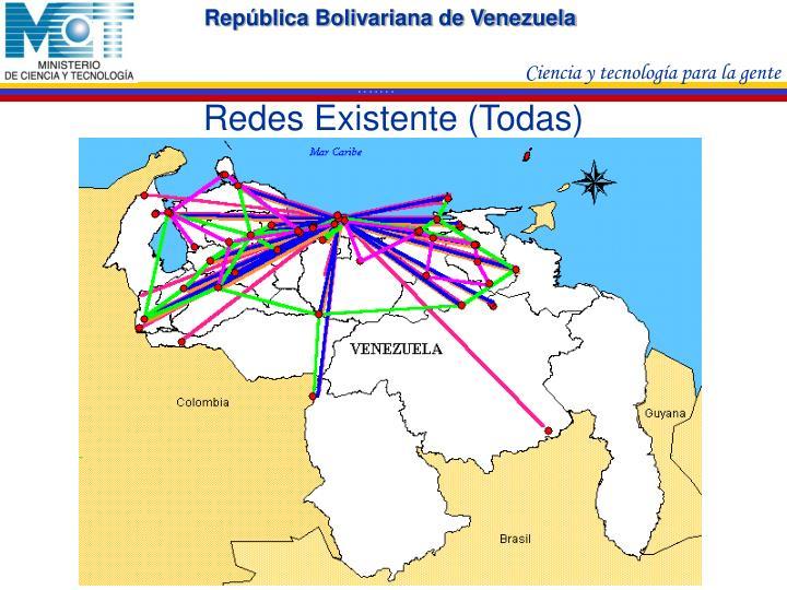 Redes Existente (Todas)