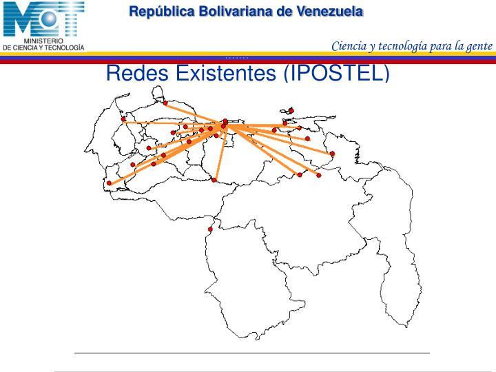 Redes Existentes (IPOSTEL)