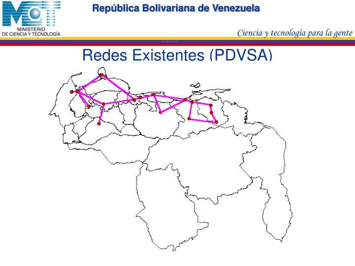 Redes Existentes (PDVSA)