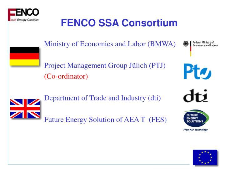 FENCO SSA Consortium