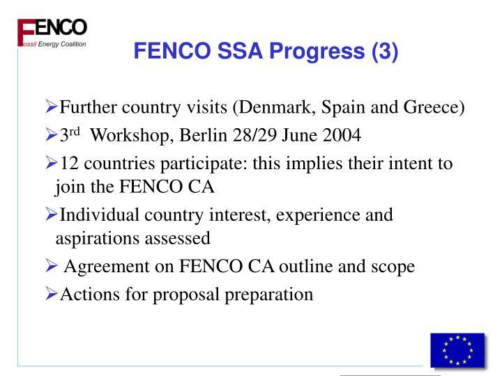 FENCO SSA Progress (3)