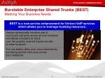 burstable enterprise shared trunks best meeting your business needs