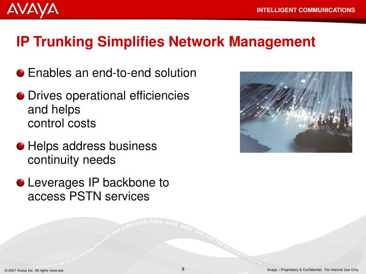 IP Trunking Simplifies Network Management