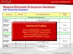 reduce eliminate enterprise hardware ds1 enterprise examples