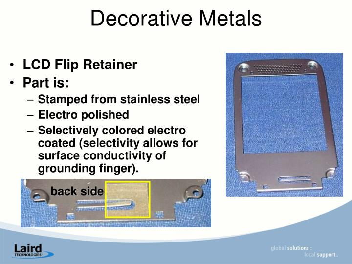 LCD Flip Retainer