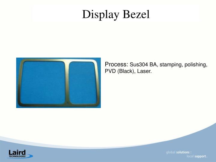 Display Bezel