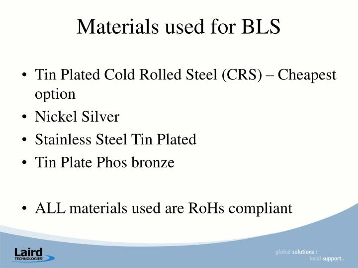 Tin Plated Cold Rolled Steel (CRS) – Cheapest option