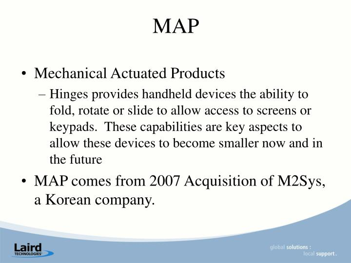 Mechanical Actuated Products