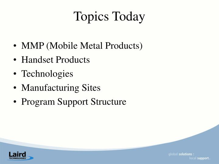 MMP (Mobile Metal Products)