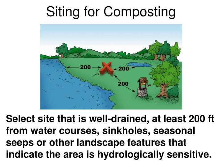 Siting for Composting