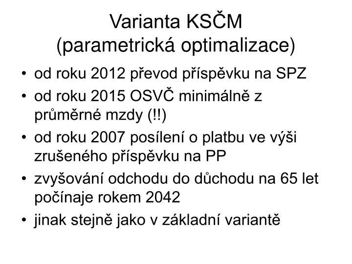 Varianta KSČM