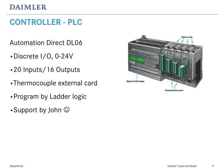CONTROLLER - PLC