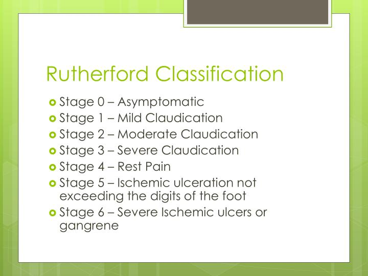 Rutherford Classification