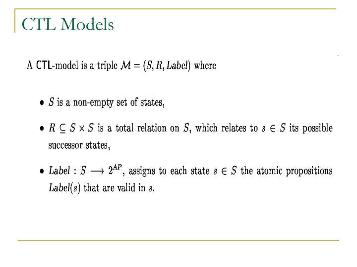 CTL Models