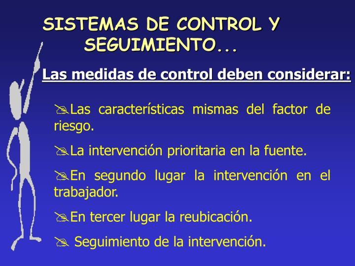 SISTEMAS DE CONTROL Y SEGUIMIENTO...