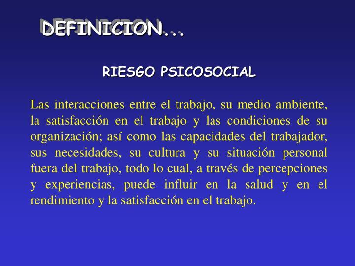 DEFINICION...