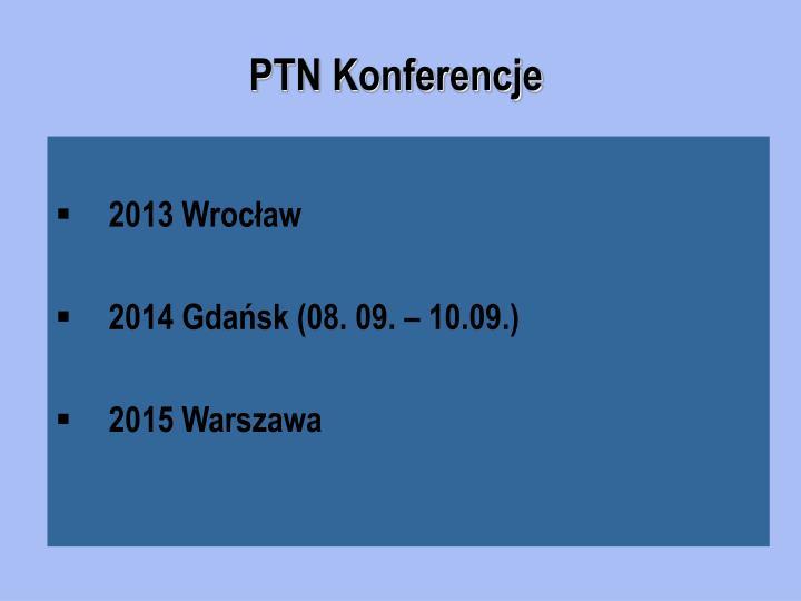 PTN Konferencje