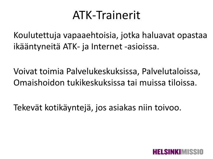 ATK-Trainerit